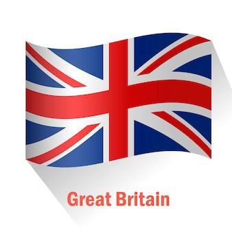 Wielka brytania flaga tle
