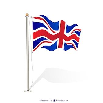 Wielka brytania flaga wektorowe
