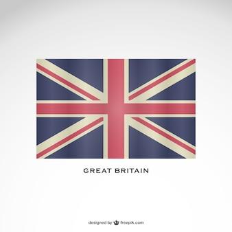 Wielka flaga królestwo darmo obrazu