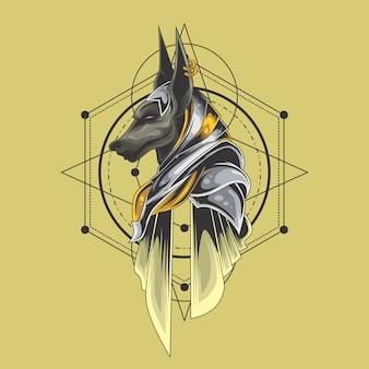 Wielka święta geometria anubis