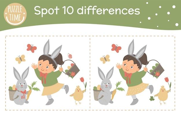 Wielkanoc znajdź inną grę dla dzieci