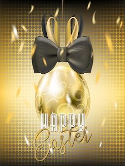 Wielkanocna Galówka Złote Jajko z Bunny Bow
