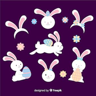 Wielkanocna kolekcja królików