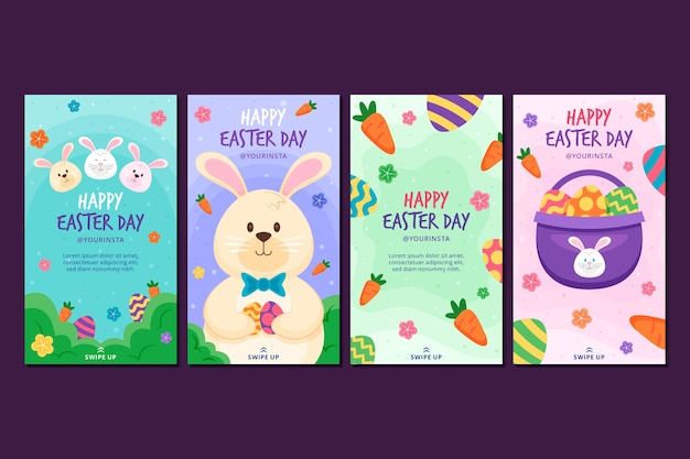 Wielkanocna kolekcja opowiadań na instagramie