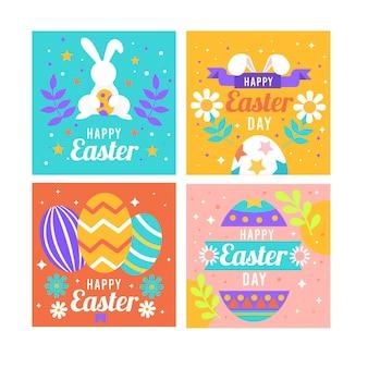 Wielkanocna kolekcja postów na instagramie