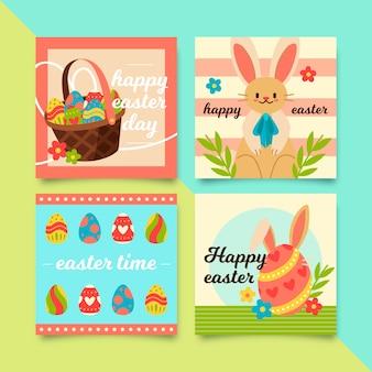 Wielkanocna kolekcja postów na instragram