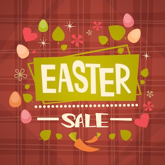 Wielkanocna wyprzedaż zakupy oferta specjalna wakacyjny baner