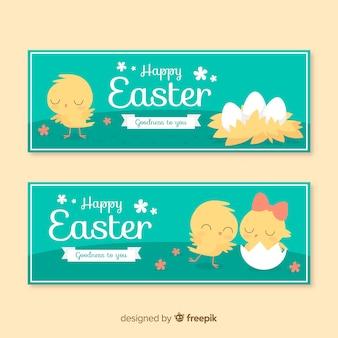 Wielkanocne banery