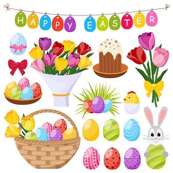 Wielkanocne elementy dekoracyjne