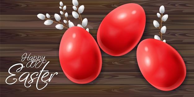 Wielkanocne jaja tło