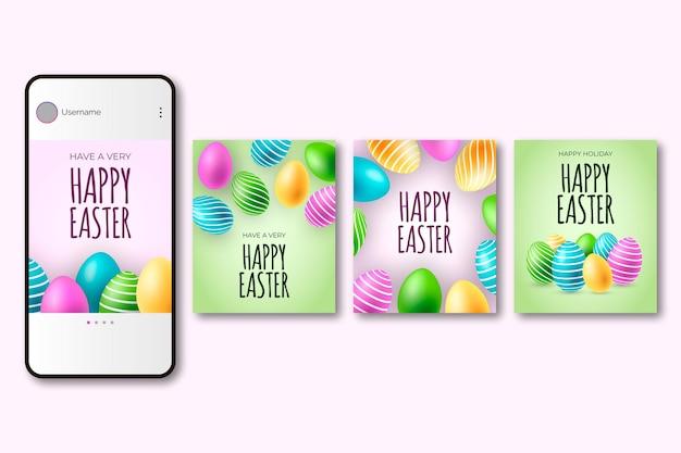 Wielkanocne posty w mediach społecznościowych