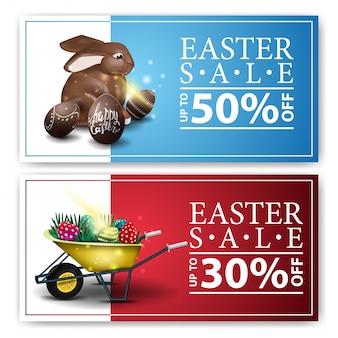 Wielkanocne transparenty sprzedaży