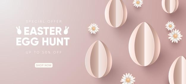 Wielkanocne wakacje sprzedaż tło
