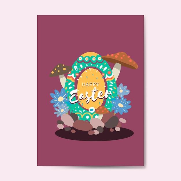 Wielkanocni jajka tropią festiwalu wektor