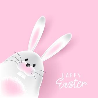 Wielkanocny królika tło