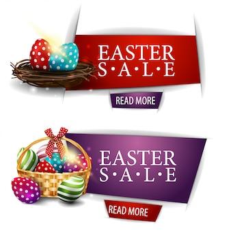 Wielkanocny sztandar sprzedaży