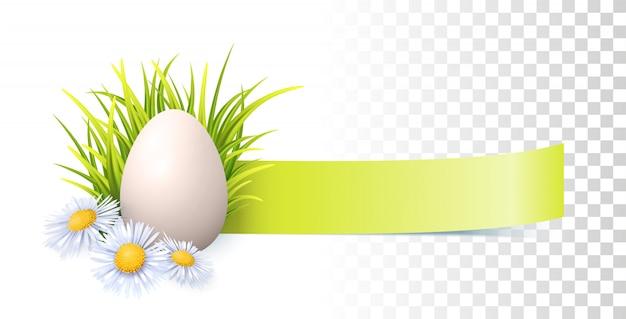Wielkanocny wektorowy sztandar