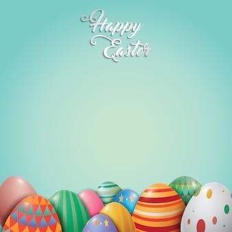 Wielkanocny wzór tła