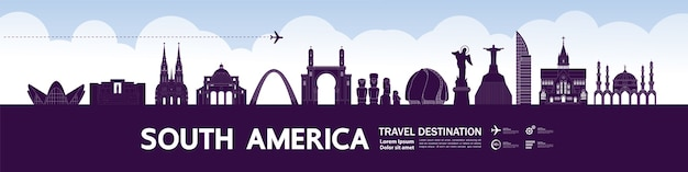 Wielki cel podróży w ameryce południowej