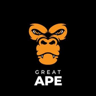Wielkie logo małpy