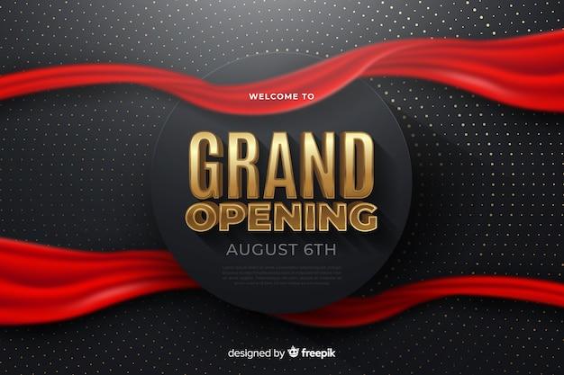 Wielkie otwarcie