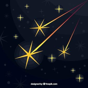 Wielkie spadające gwiazdy