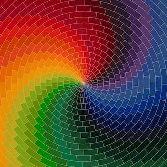 Wielobarwna abstrakcyjny wzór tła