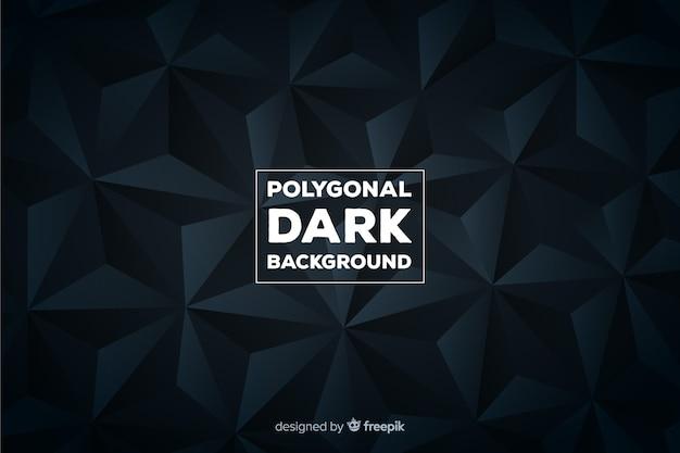 Wieloboczne ciemne tło