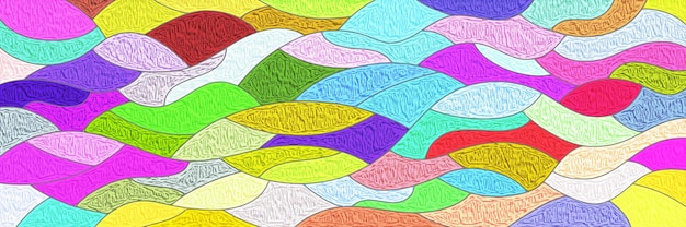 Wielokolorowy baner wektorowy, świąteczne tło