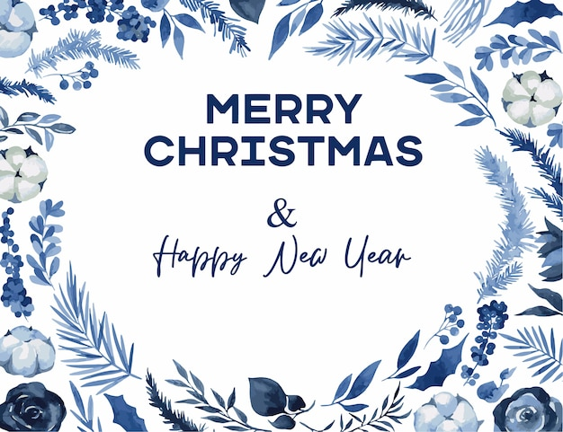 Wieniec bożonarodzeniowy z gałęziami świerku i eukaliptusa