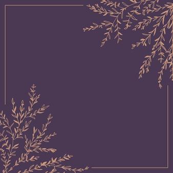 Wieniec gałązek i liści