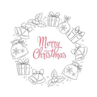 Wieniec wesołych świąt