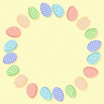 Wieniec z jajek wielkanocnych