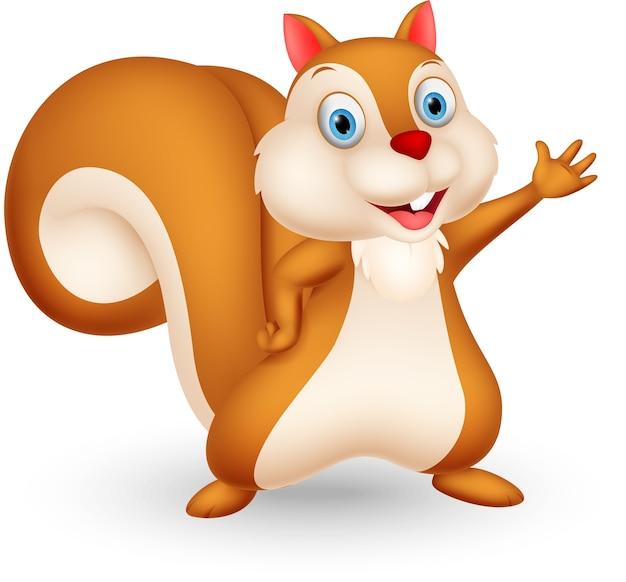 Wiewiórka kreskówka prezentacji