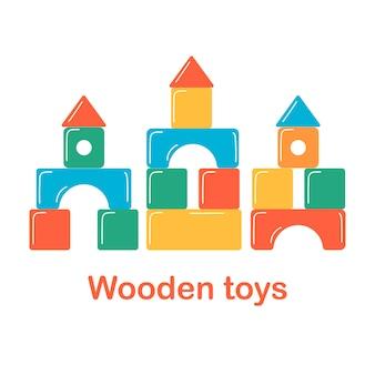 Wieża z klocków dla dzieci zabawki edukacyjne dla przedszkolaków