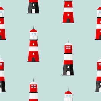 Wieże latarni searchlight do nawigacji morskiej