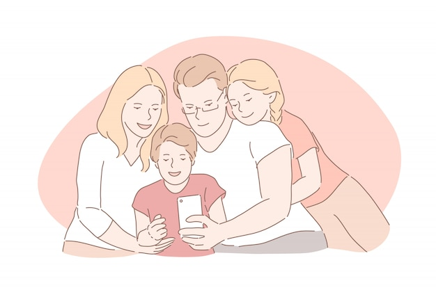 Więzi rodzinne, szczęśliwe dzieciństwo, pojęcie rodzicielstwa