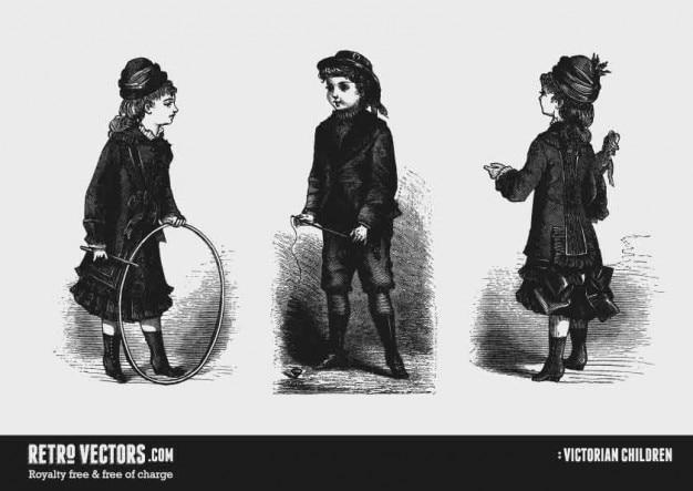 Wiktoriański dzieci