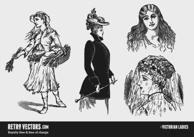 Wiktoriańskie damy