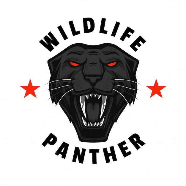 Wildlife rycząca pantera