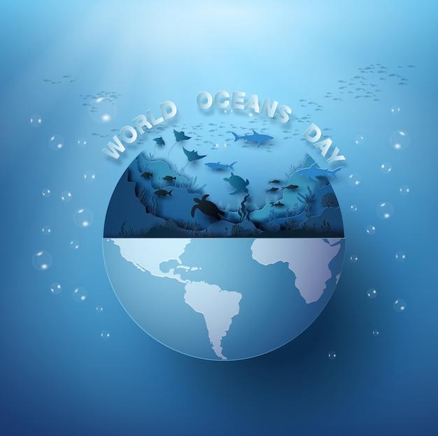 Wildlife under sea