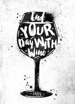 Wino plakatowe