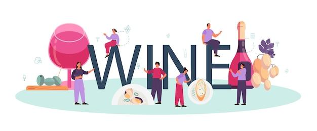 Wino winogronowe w butelce i kieliszek pełen napoju alkoholowego