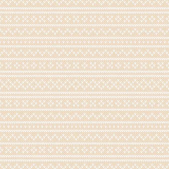 Winter holiday fair isle knitted pattern. dziewiarska wełna tekstura