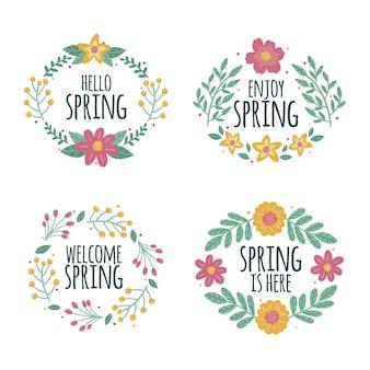 Wiosenna kolekcja etykiet