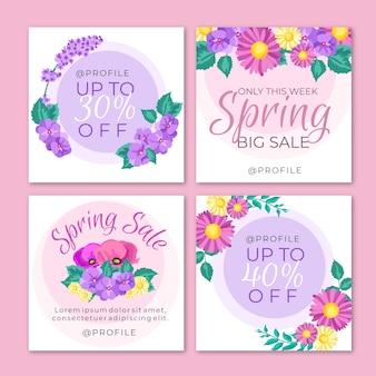 Wiosenna wyprzedaż na instagramie
