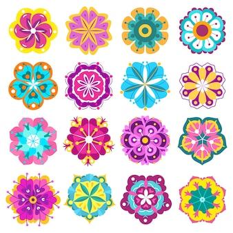 Wiosenne kwiaty ikony