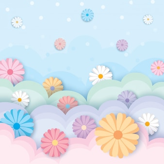 Wiosenno-kwiatowo-pastelowy