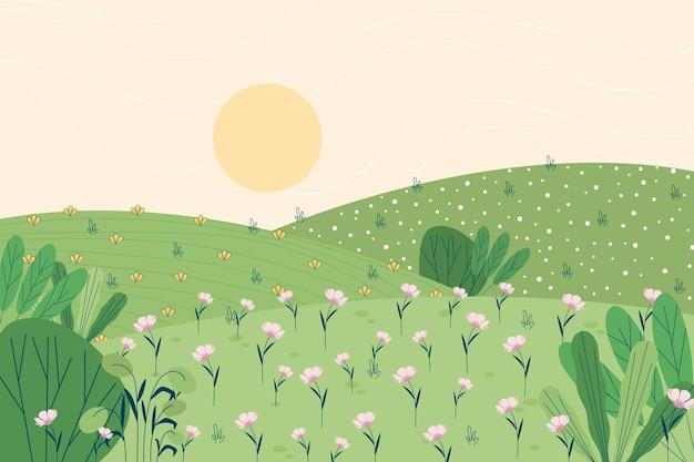 Wiosenny krajobraz