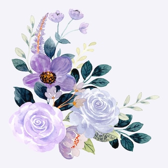 Wiosenny kwiatowy wzór tła rogu